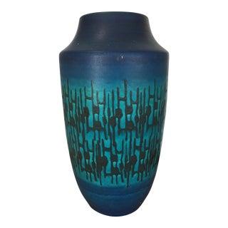Cobalt Blue Studio Pottery Vase