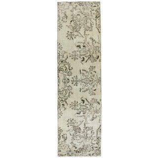 "Bold Floral Overdyed Carpet Runner -- 2'5"" x 8'10"""