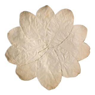 Leaf Relief Decorative Platter