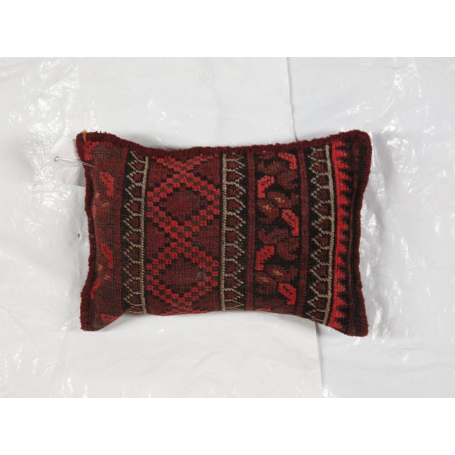 Image of Baluch Rug Fragment Pillow