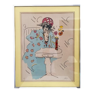 Signed Numbered Peter Max Lithograph
