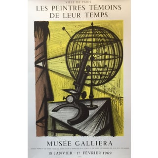 Bernard Buffet Vintage French Exhibition Poster