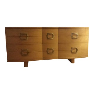 Rway Mid-Century Blonde Dresser