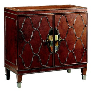 Faux Leather Glam Lodge Chest