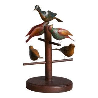 5 Bird Carvings