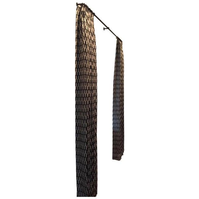 Custom Clay McLaurin Drapery Panels - A Pair - Image 1 of 3