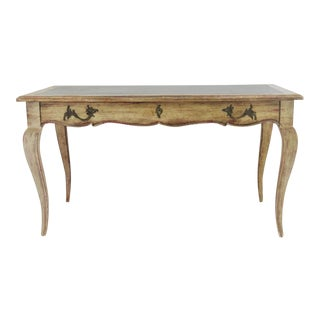 French Style Distressed Writing Desk