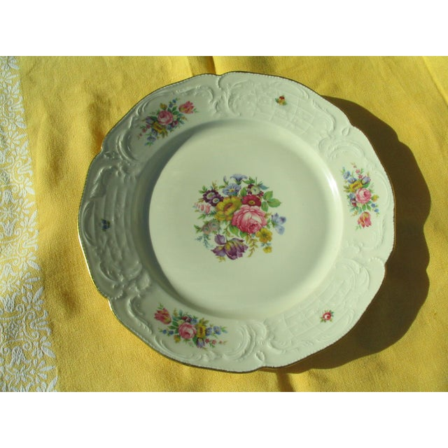 Rosenthal Sanssouci Floral Chop Plate - Image 2 of 5