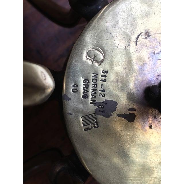 Vintage Norman Gragg 12-Arm Brass Chandelier - Image 8 of 8