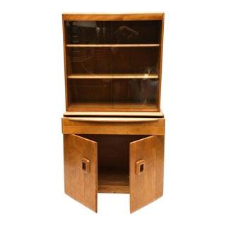 Two-Piece Heywood Wakefield Cabinet, 1960s, USA