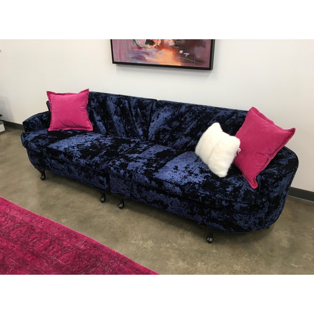 Mid-Century Custom Upholstered Sofa (Final Markdown!) - Image 10 of 11