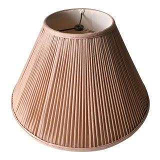 Vintage Custom Pink Irish Linen Lampshade