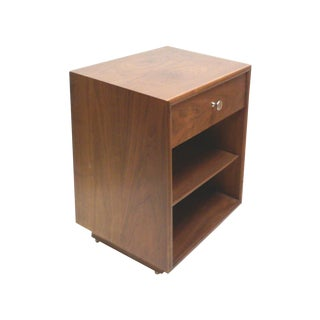 Kipp Stewart Drexel Mid-Century Walnut End Table