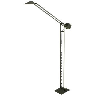 Black Cast Iron and Steel Articulated Floor Lamp by ARTUP