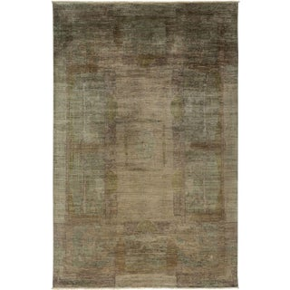 "Vibrance Hand Knotted Area Rug - 6' 2"" X 8' 10"""