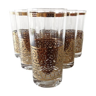 "George Briard ""Filiagree"" Highballs - Set of 6"