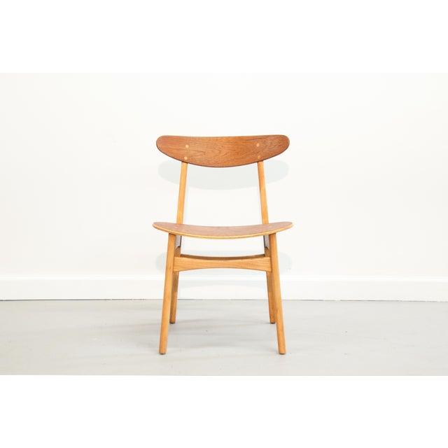 Danish Modern Bentwood Chair - Image 5 of 11