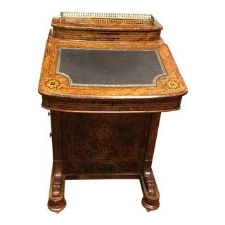 Antique Walnut Davenport Desk