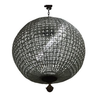 Crystal Sphere Chandelier