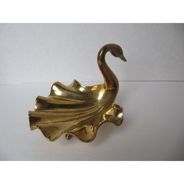 Brass Swan Dish - Image 5 of 5