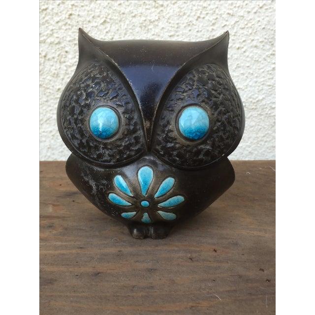 Image of 1960's Midcentury Ceramic Owl