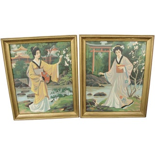 Paint by Numbers Japanese Ladies - Pair