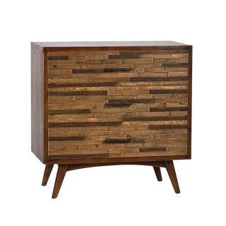 Mid-Century Style Reclaimed Wood Dresser