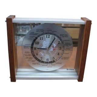 Verichron World Cities Time Zone Clock