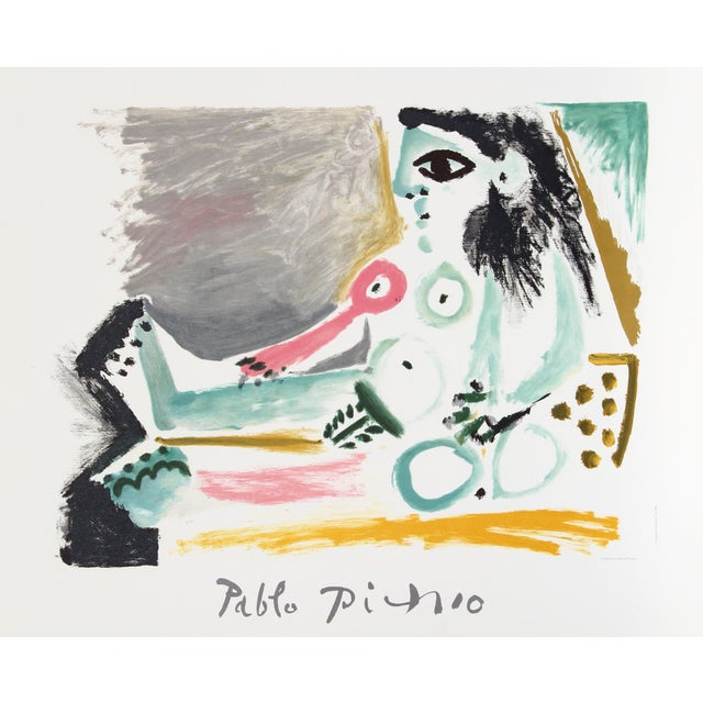 Image of Pablo Picasso - Femme Nu Assise Estate Lithograph