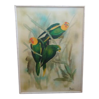 Tropical Thompson Parrot Painting
