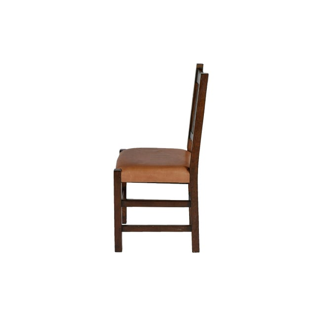 Mission Limbert Style Dining Chairs - 8 - Image 4 of 5