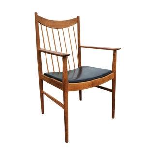 Arne Vodder Sibast Teak Captain's Chair
