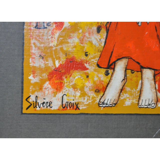 Image of Silvere Croix Original Painting C.1960
