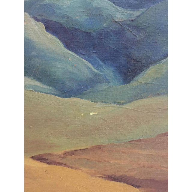 Mid-Century California Gold Will Frates Painting - Image 2 of 5