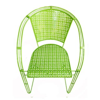 Reserved for Mary C.......Lime Green Spring Chair