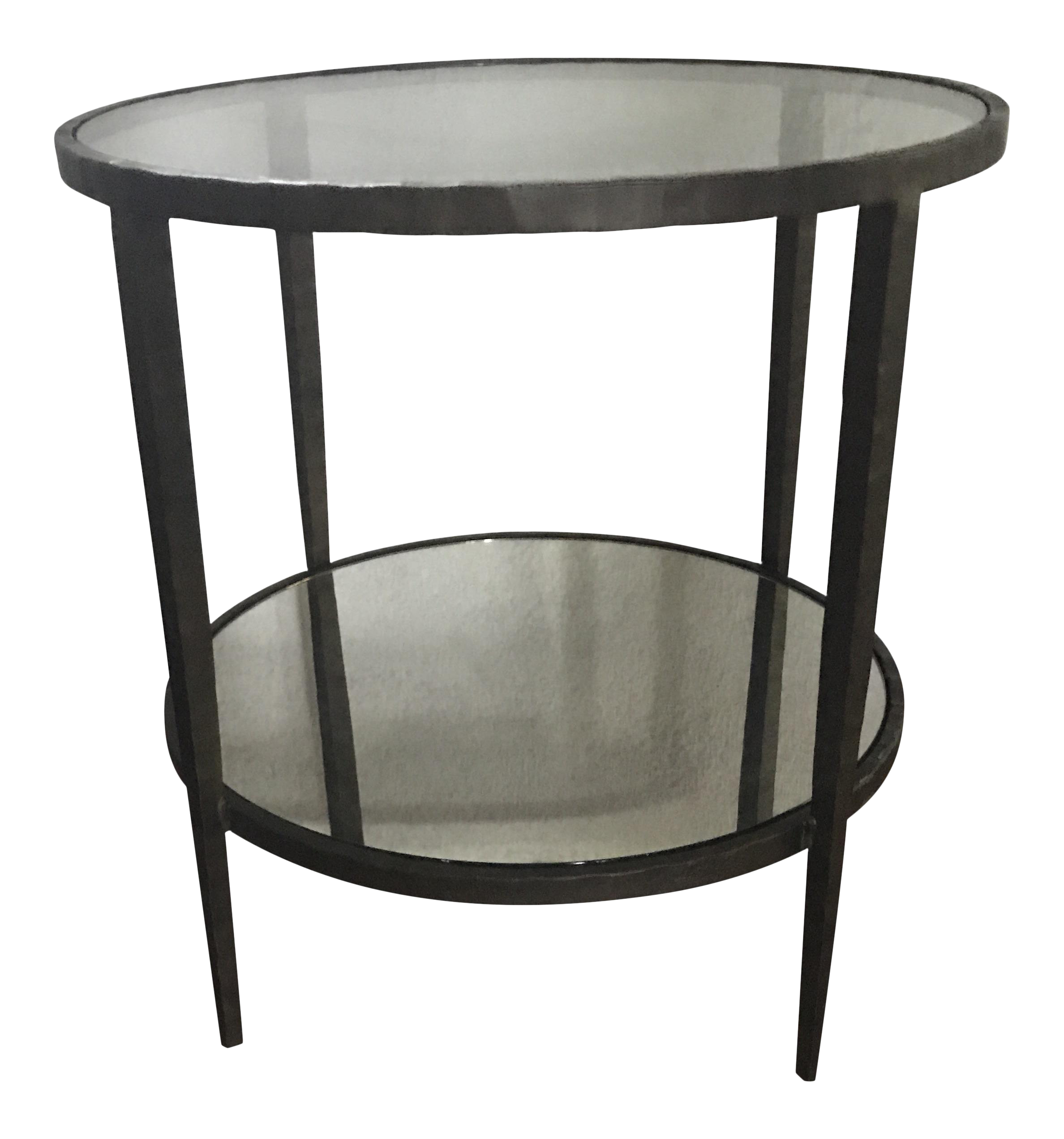 Crate U0026 Barrel Clairemont Side Table   Image 1 ...