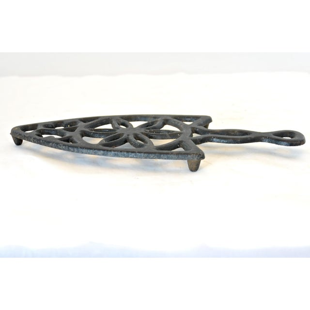 Image of Rustic Cast Iron Trivet
