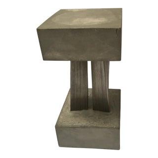 Modernist Concrete Wire Sculpture James Pearson