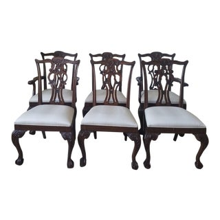 Ethan Allen Chauncey Dining Chairs - Set of 6