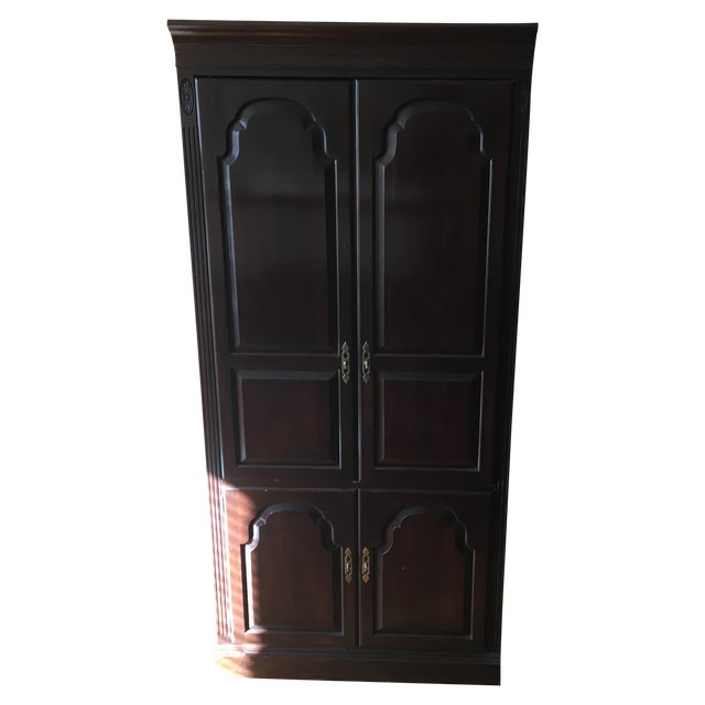 Ethan Allen Georgian Court Cherry Armoire - Image 1 of 5