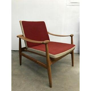"""1950's Model 133 """"Spade"""" lounge chair by Finn Juhl"""