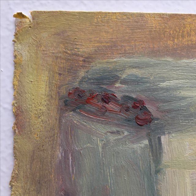 Vintage Abstract Still Life Painting - Image 7 of 11