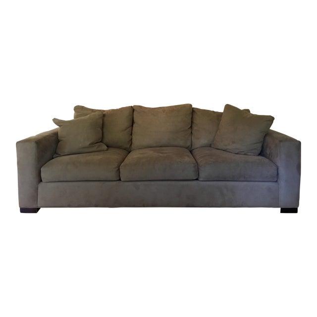 Wustrow Umber Italian Leather Power Reclining Sofa: Room & Board Metro 3 Cushion Sofa