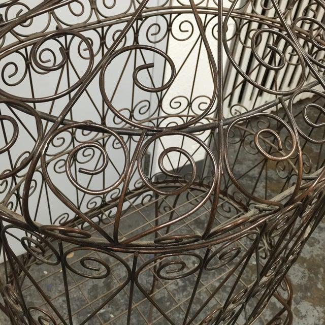 Decorative Iron Bird Cage - Image 8 of 10