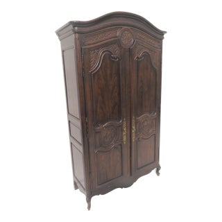 Henredon Four Centuries Oak Country French Armoire