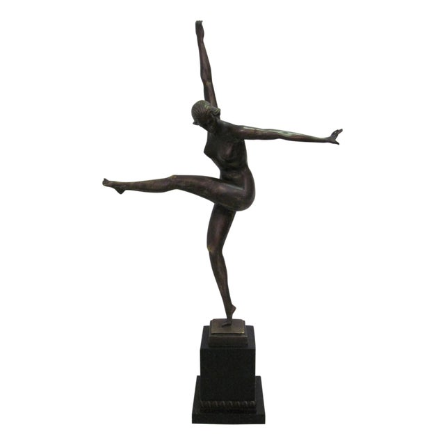 Duvernes Bronze Sculpture - Image 1 of 7