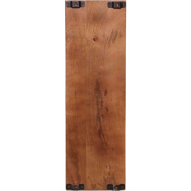 Industrial Chic Iron & Wood Machinery Bookshelf - Image 4 of 4