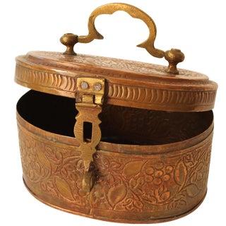 Hinged Pakistani Copper Box
