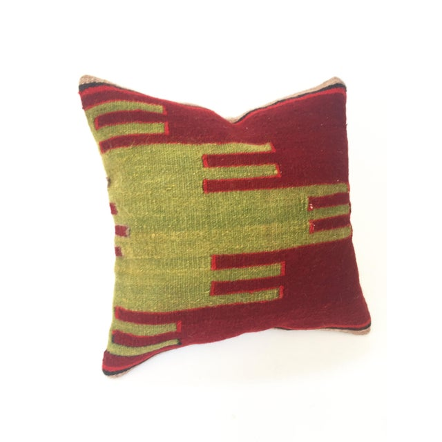 Vintage Kilim Square Pillow - Image 2 of 5