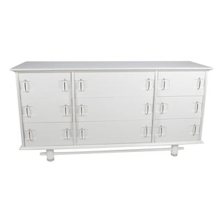 Kent Coffey White 9-Drawer Dresser